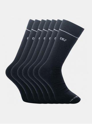 7PACK ponožky CR7 bambusové černé