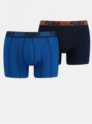 2PACK pánské boxerky Puma modré