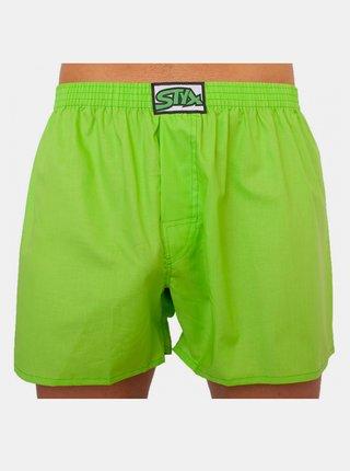 Pánské trenky Styx klasická guma zelené