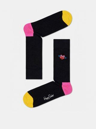 Ponožky Happy Socks Embroidery Space Cat Crew