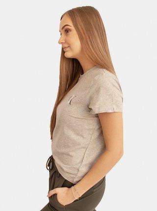 Dámské tričko Calvin Klein šedé