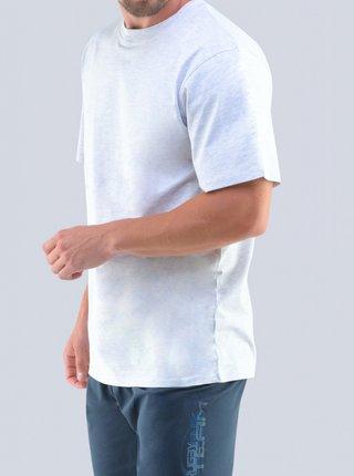 Pánské pyžamo Gino bílo/modré