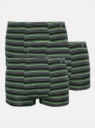 3PACK pánské boxerky Stillo bambusové zelené
