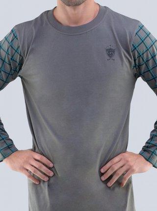 Pánská noční košile Gino šedá