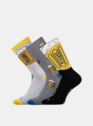 3PACK ponožky Voxx vícebarvné