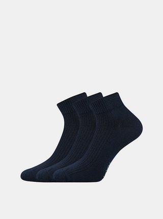 3PACK ponožky Voxx tmavě modré