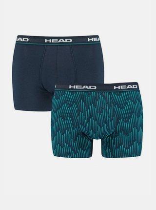 2PACK pánské boxerky HEAD modré