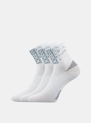 3PACK ponožky Voxx bílé