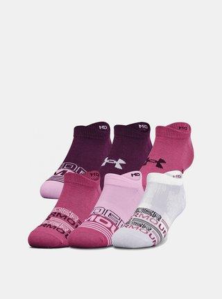 6PACK ponožky Under Armour vícebarevné