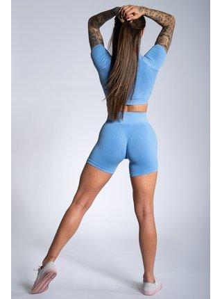 Kraťásky Gym Glamour Blue Ombre