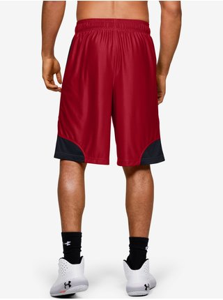Kraťasy Under Armour UA Perimeter Short - Červená