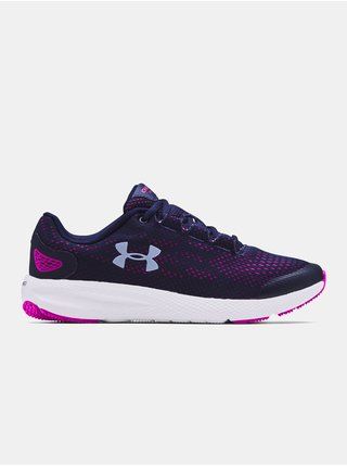 Boty Under Armour GS Charged Pursuit 2 - Tmavě modrá