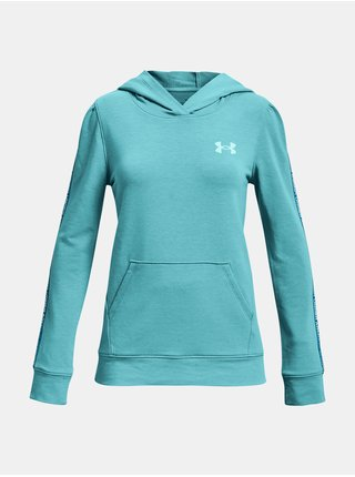 Mikina Under Armour Rival Terry Hoodie - Modrá