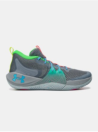 Boty Under Armour UA Embiid 1 GM PT - Šedá