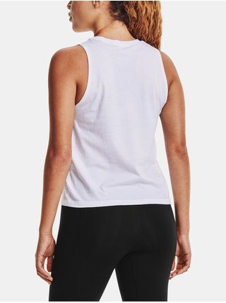 Tílko Under Armour Live UA Repeat Muscle Tank - Bílá