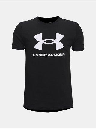 Tričko Under Armour Sportstyle Logo SS - Černá