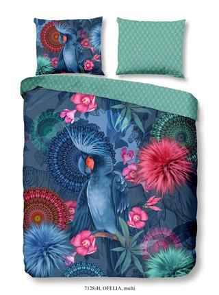 Home modré obojstranné posteľné obliečky Ofelia 140x200cm