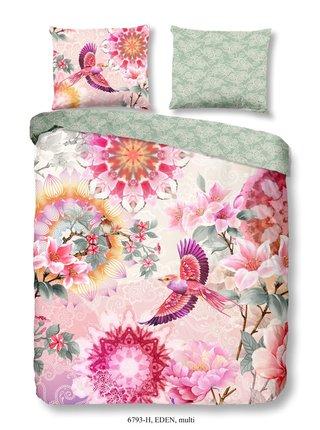 Home farebné obojstranné posteľné obliečky Eden 140x200cm