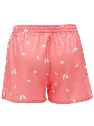 Slippsy ružové pánske trenírky Dove Boy s holuvičkami