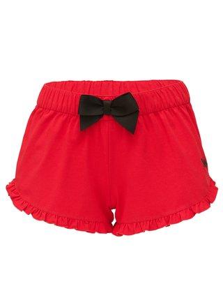 Slippsy červené domácí kraťasy Red Shorts Girl