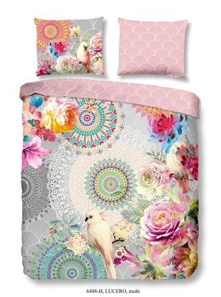 Home farebné obojstranné posteľné obliečky Hip Lucero 140x200cm