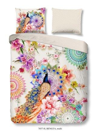 Home farebné obojstranné posteľné obliečky na jednolôžko Hip Bengta 140x200cm