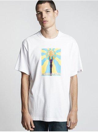 Element MABLE GOLD pánské triko s krátkým rukávem - bílá