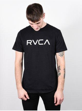 RVCA BIG RVCA black pánské triko s krátkým rukávem - černá