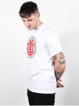 Element SEAL OPTIC WHITE pánské triko s krátkým rukávem - bílá