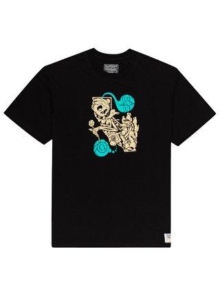 Element ALTERED STATE FLINT BLACK pánské triko s krátkým rukávem - černá