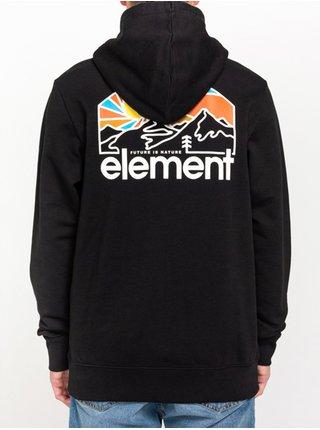 Element SUNNETT FLINT BLACK mikiny přes hlavu pánská - černá