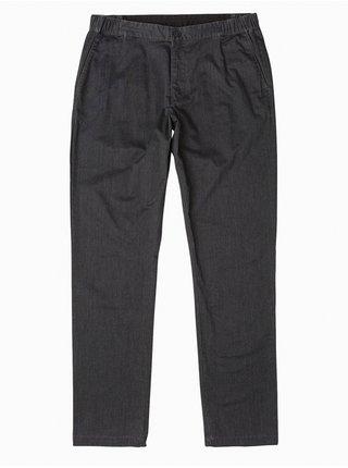 RVCA ALL TIME SESSION BLACK MARLE plátěné kalhoty pánské - černá