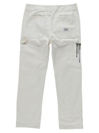 Element TIMBER STAFF white plátěné kalhoty pánské - bílá