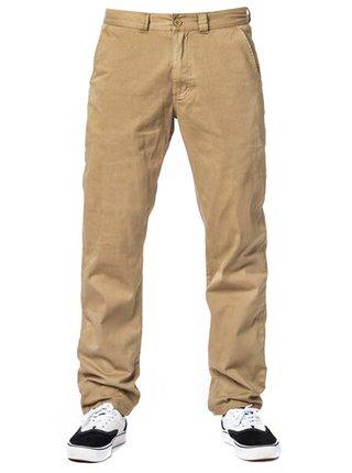 Horsefeathers MACKS ATRIP DESERT plátěné kalhoty pánské - béžová