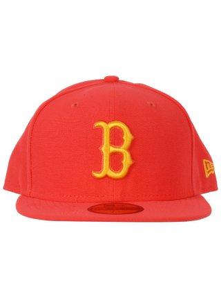 New Era NE5950 SEAS CONT MLB LAVA/CYBYEL kšiltovka s rovným kšiltem - červená