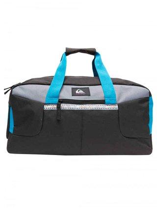 Quiksilver MEDIUM SHELTER II FJORD BLUE cestovní taška - černá