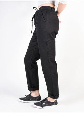 Vans UNION black plátěné kalhoty dámské - černá