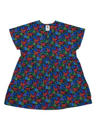 Element CINNAMON PINK GARDEN krátké letní šaty - barevné