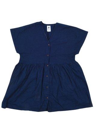 Element CINNAMON indigo krátké letní šaty - modrá