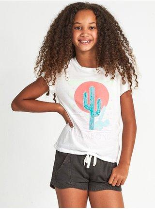 Billabong DESERT SKY SALT CRYSTAL dětské triko s krátkým rukávem - bílá