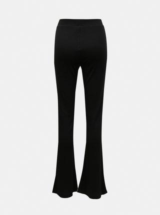 Černé flared fit kalhoty Noisy May Pasa