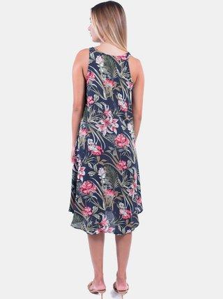 Tmavomodré vzorované šaty Culito from Spain