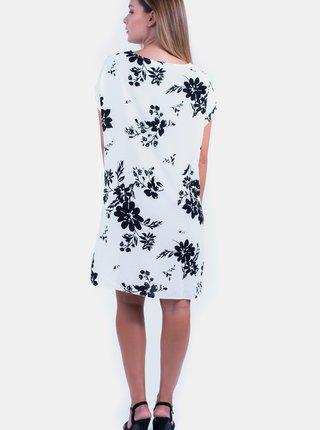 Biele kvetované šaty Culito from Spain