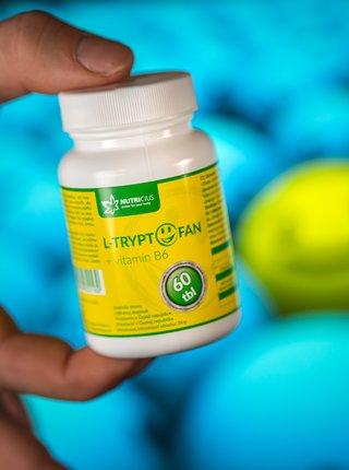 Doplněk stravy L-Tryptofan + vit. B6 Nutricius (60 tablet)