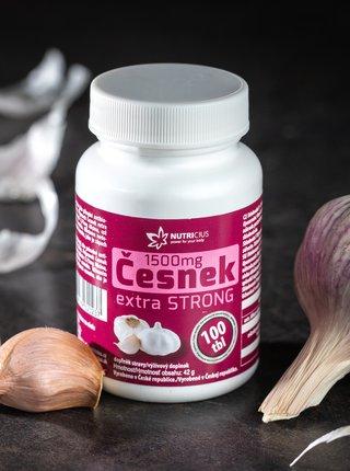 Doplněk stravy Česnek Extra Strong Nutricius (100 tablet)