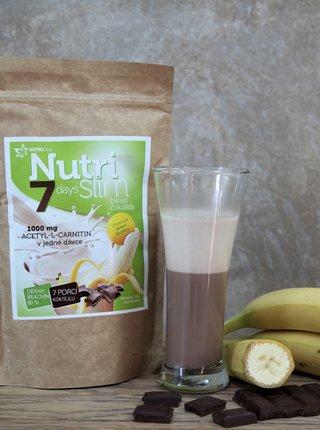Nápoj v prášku NutriSlim Banán + čokoláda Nutricius (210 g)