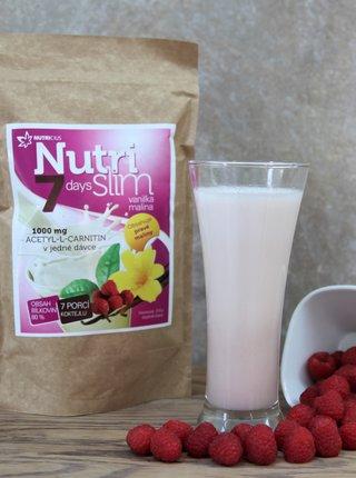Nápoj v prášku NutriSlim Vanilka + malina Nutricius (210 g)