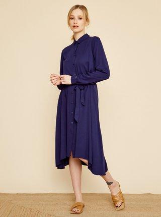 Tmavě modré košilové šaty ZOOT Colly