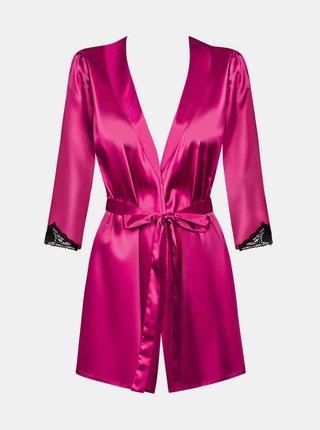 Župan Satinia robe pink - Obsessive růžová