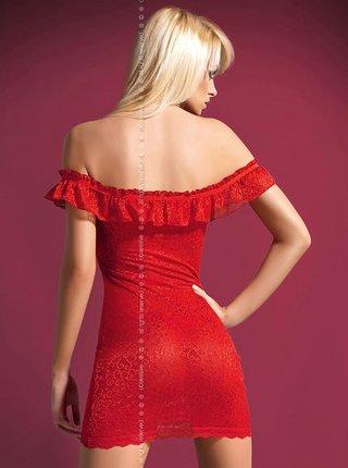 Košilka Diamond chemise - Obsessive červená